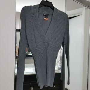 INC Ribbed Sweater